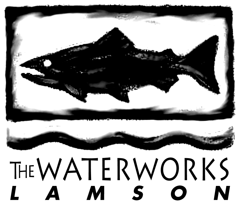 WWL fish B&W large logo