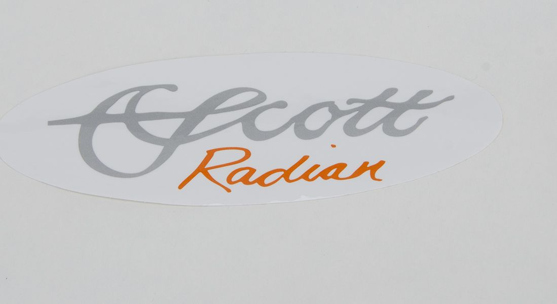 SCOTT RADIAN DECAL