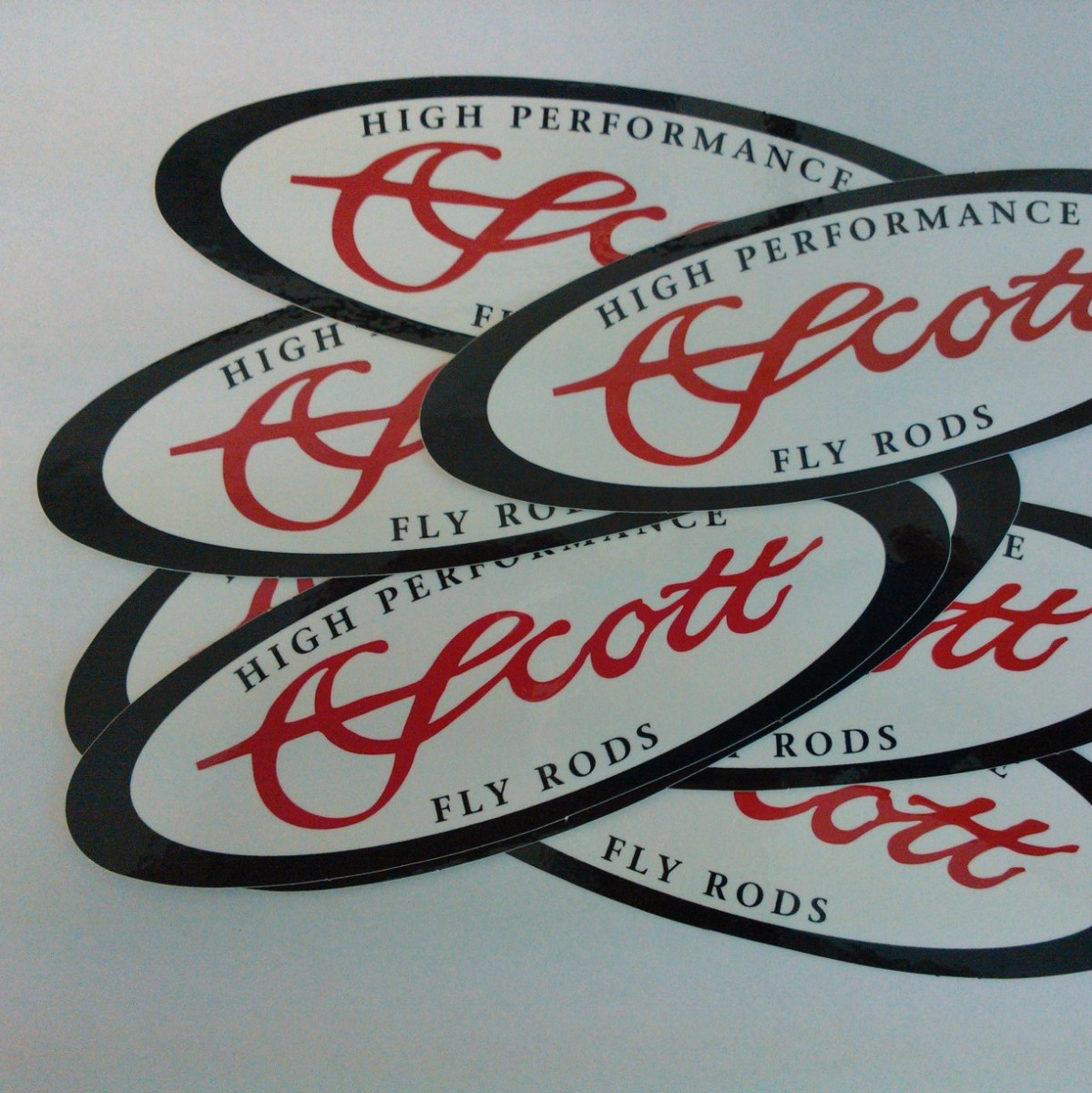 SCOTT OVAL DECAL
