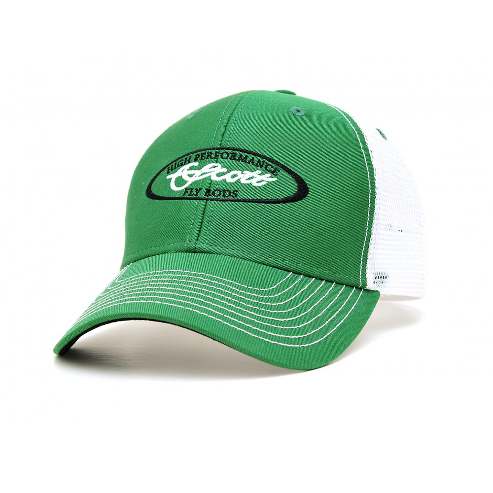 SCOTT KELLY GREEN TRUCKER HAT