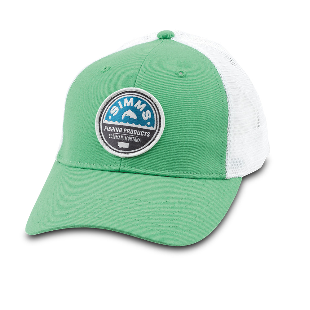 WOMEN'S PATCH TRUCKER CAP