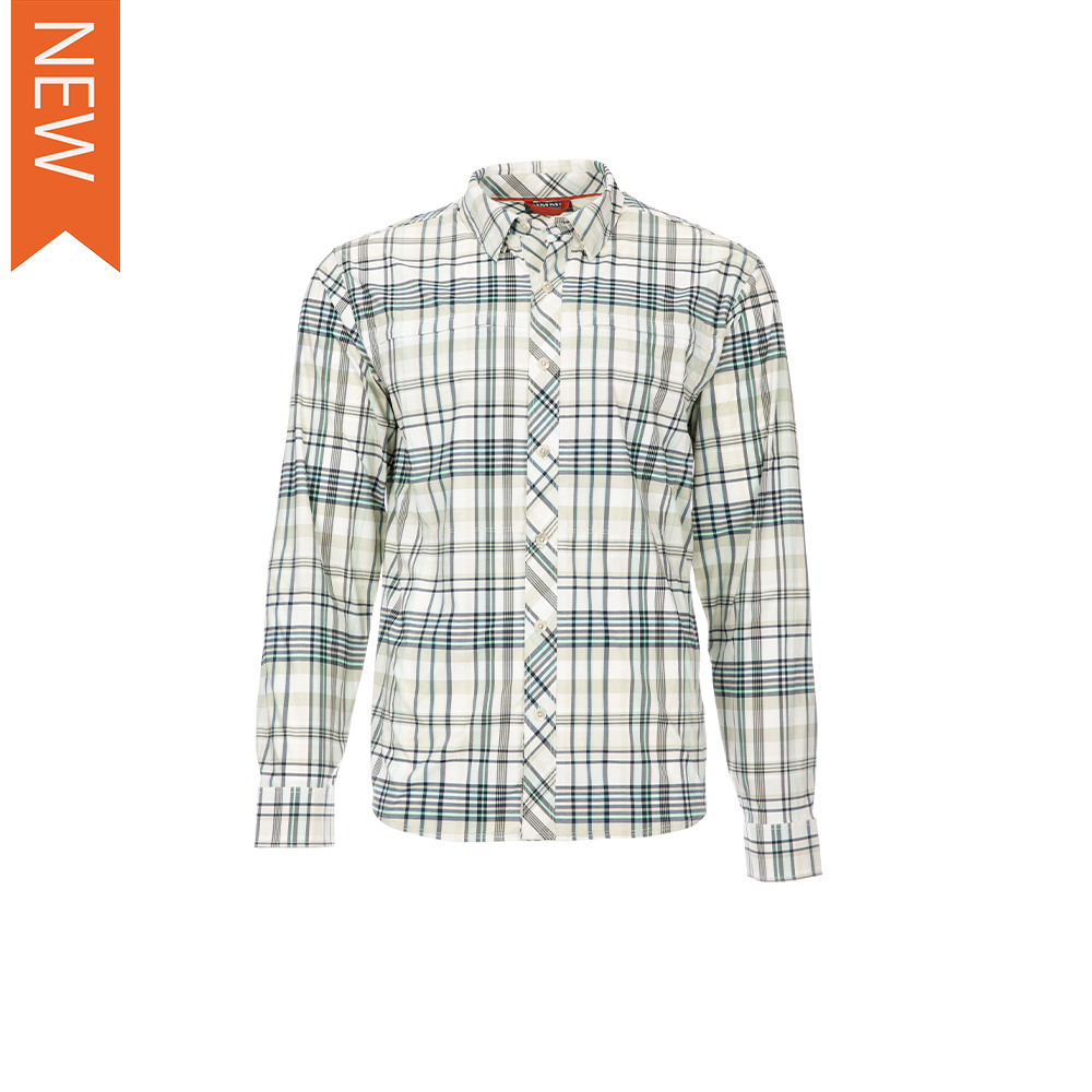BUGSTOPPER LS SHIRT PLAID
