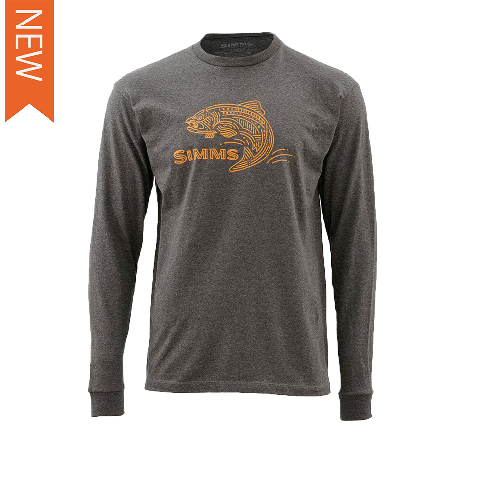 TROUT LINES LS TEE