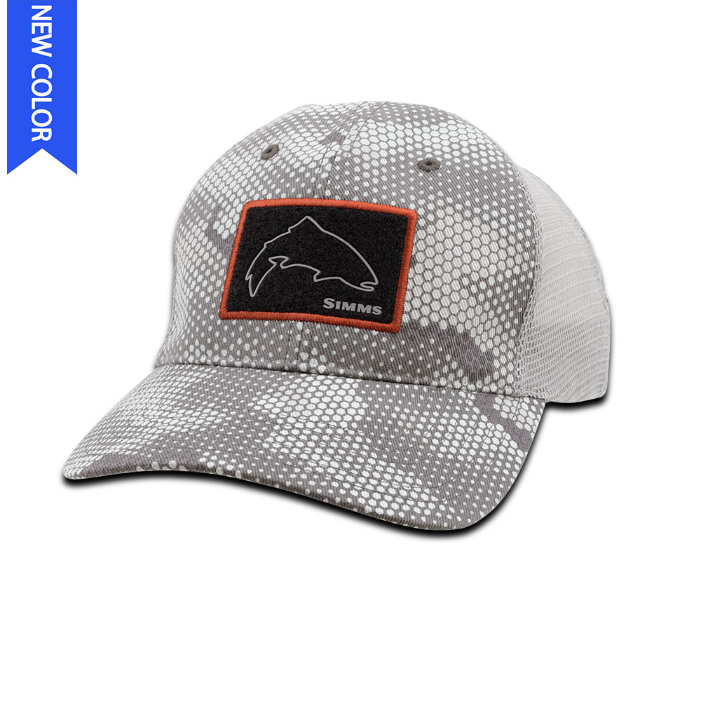 HIGH CROWN PATCH TRUCKER CAP