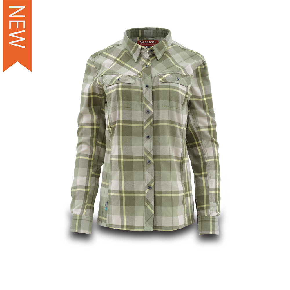 WOMES'S WOOL BLEND FLANNEL