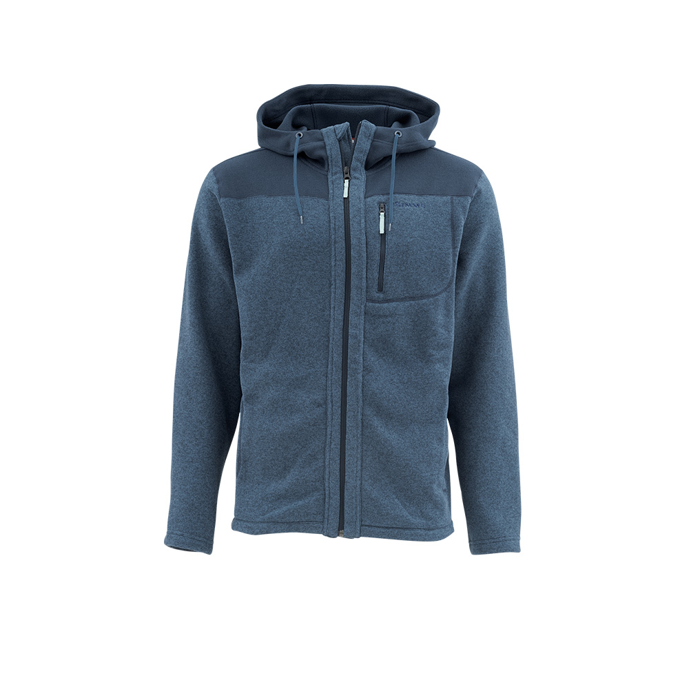 RIVERSHED FULL-ZIP HOODY