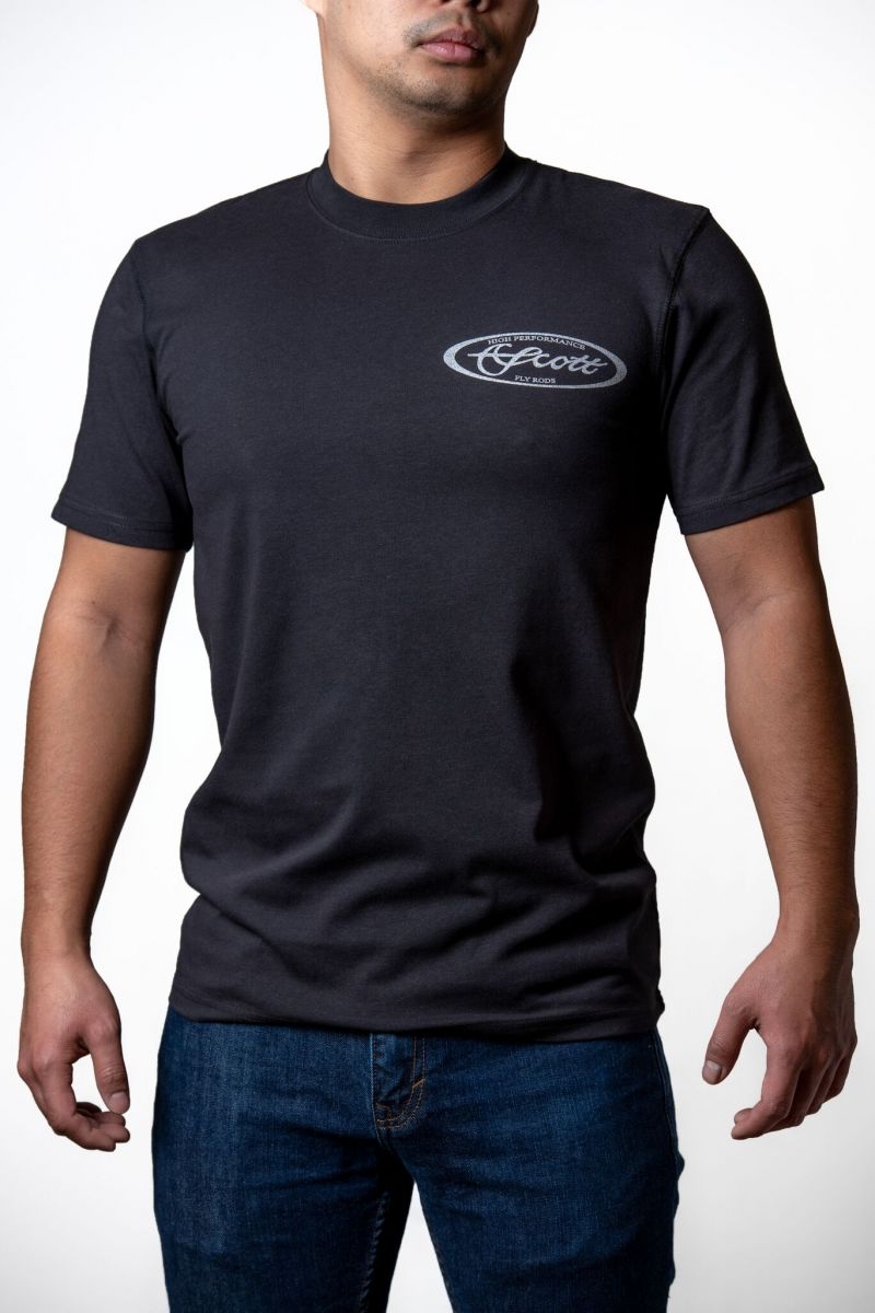 SCOTT  SHORT SLEEVE BLACK